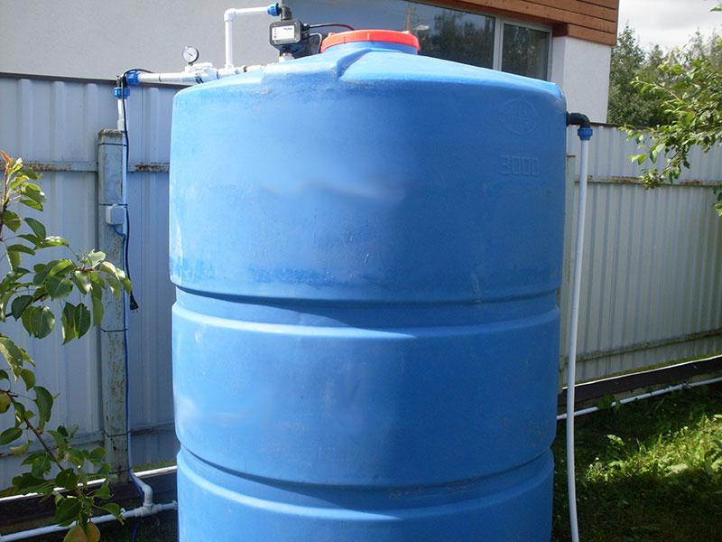 Как сделать ёмкость для воды 868